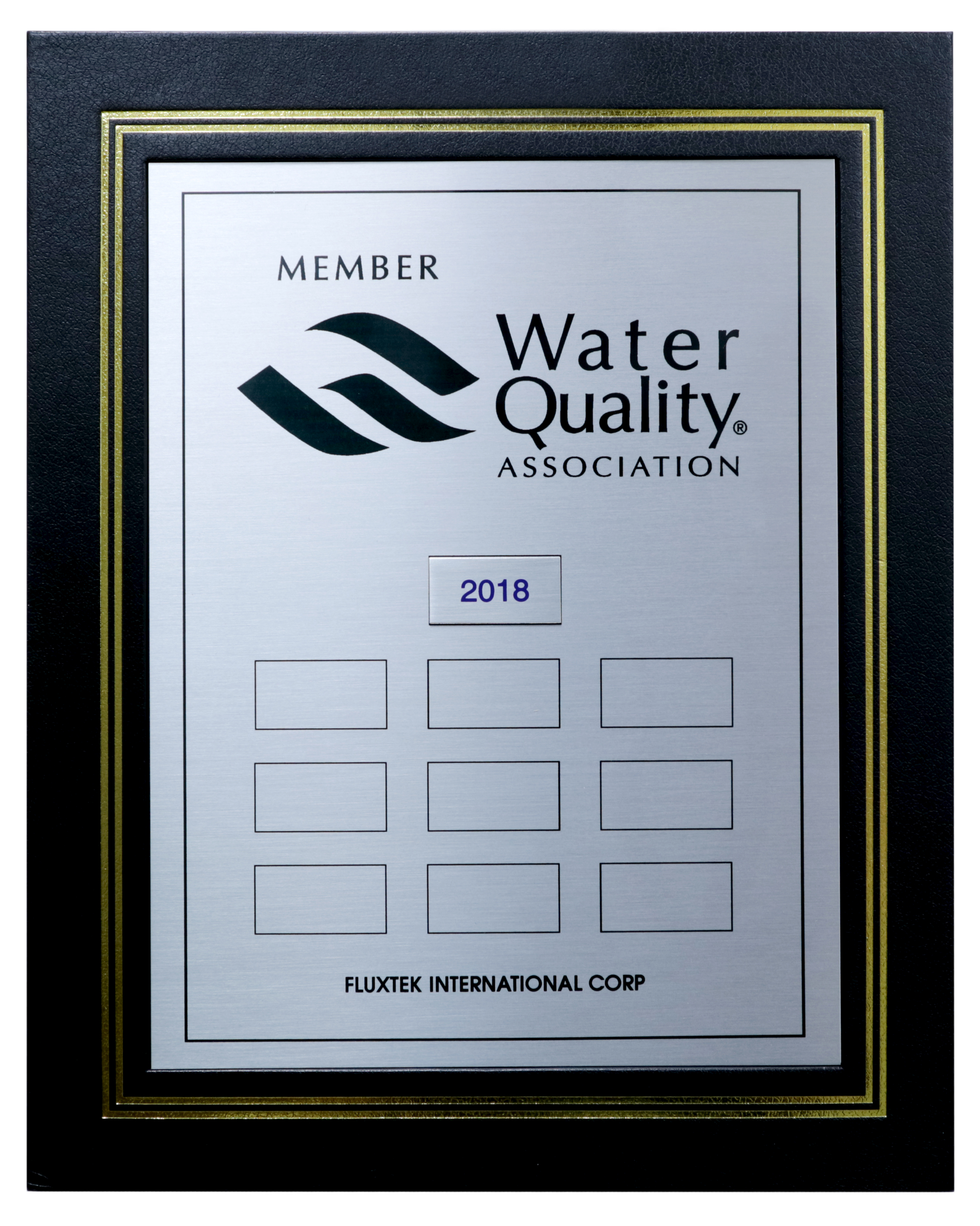 Water Quality Association 2018