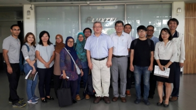 ASEAN & Taiwan scholars Visit Fluxtek for Halal and Hydrogen Water Products